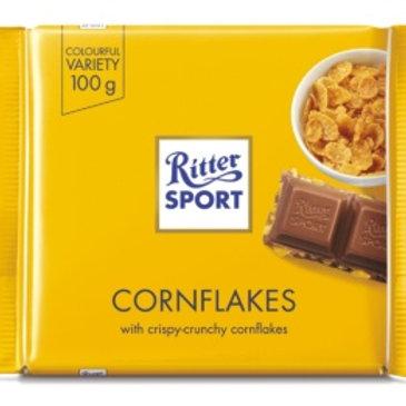 Maiz Tostado con Choco! Corn Flakes by: RitterSport 100g