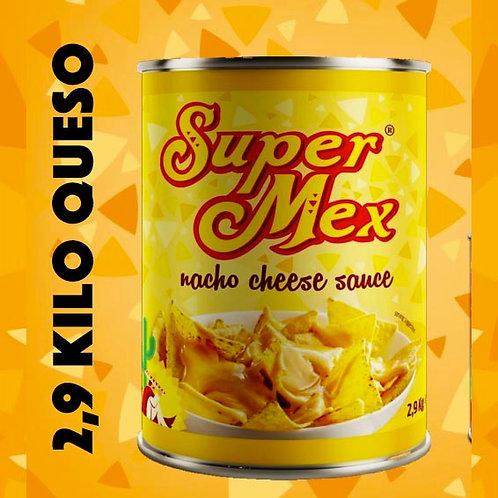 2,9 kg Salsa de Queso Dipping - SuperMex