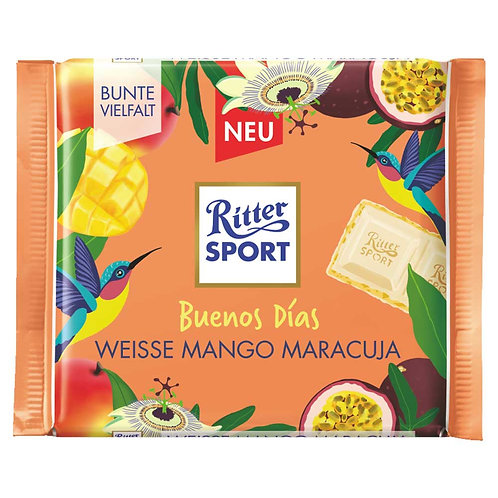 Buenos Días! by:Ritter Sport-White Mango Passion Fruit 100g