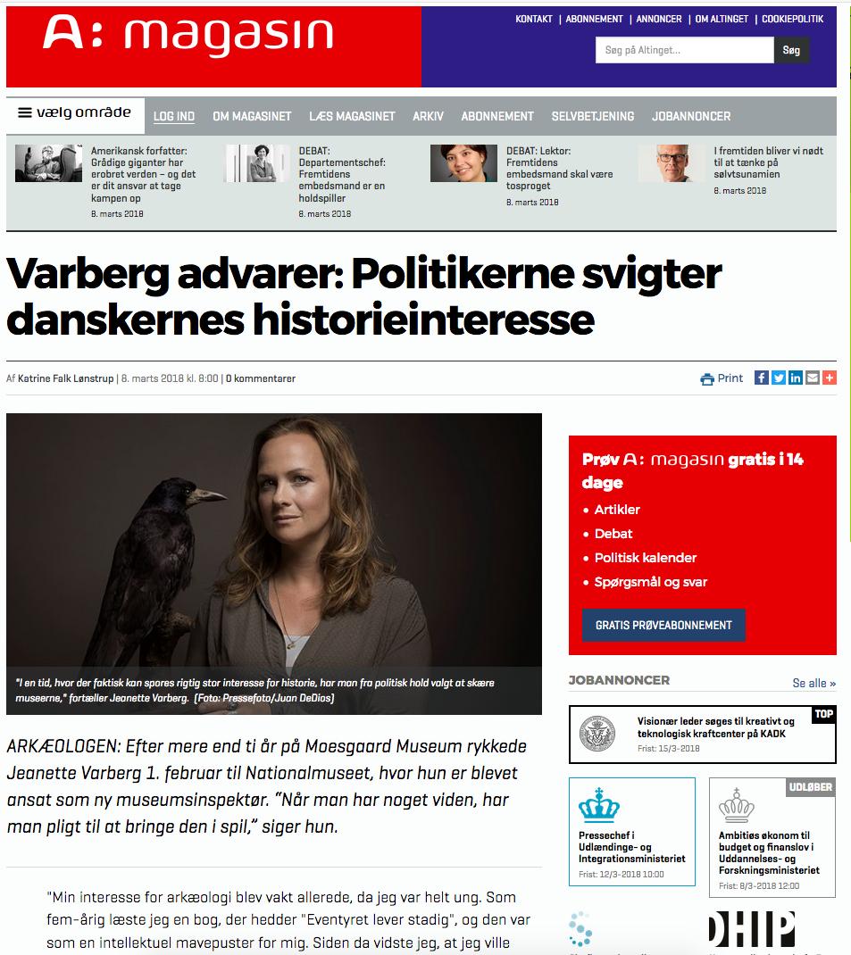 Jeanette Varberg on Alting.dk
