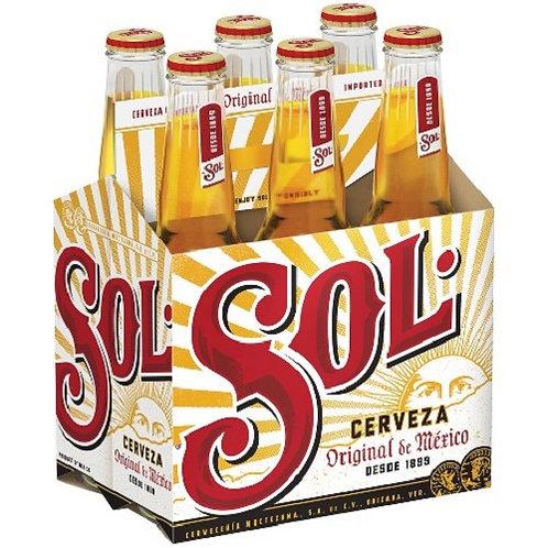 6-Pack Sol Cerveza Original 4,6%