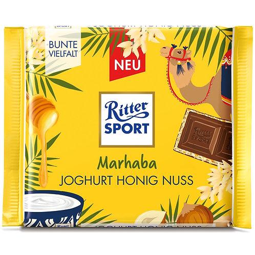 Marahaba! by: Ritter Sport-Yougurt Honey Hazelnuts 100g