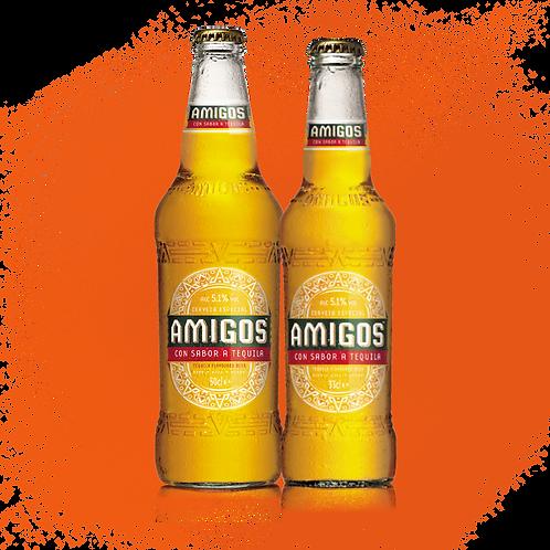 2 pack-Cerveza Amigos Tequila & Lime Taste