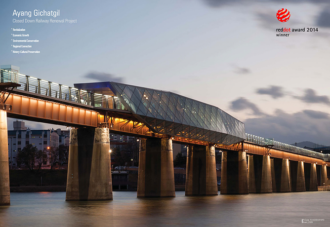 "Ayang Railway Bridge"" Reddot Award"