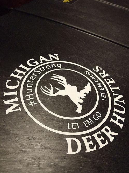 Let'em Go Let 'em Grow Decal - #hunterstrong