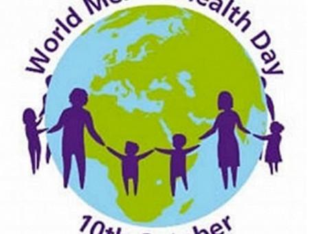 Παγκόσμια Ημέρα Ψυχικής Υγείας 10 Οκτωβρίου