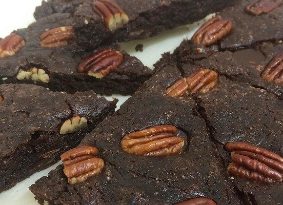 Brownie sans-gluten ( x3 parts)