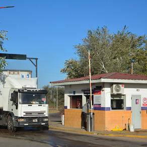 Así opera el Centro de Transferencia de Carga de Villa Mercedes en la Zona de Actividades Logísticas