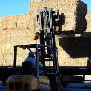 La máquina compactadora de alfalfa permite ahorrar hasta un 30% en el costo del flete