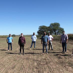 El Gobierno cultiva alfalfa para disminuir el desbalance hídrico de la Cuenca del Morro
