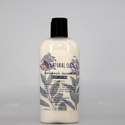 Patchouli Lavender Body Lotion