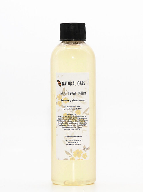 Tea Tree Mint Face Wash (Refill)
