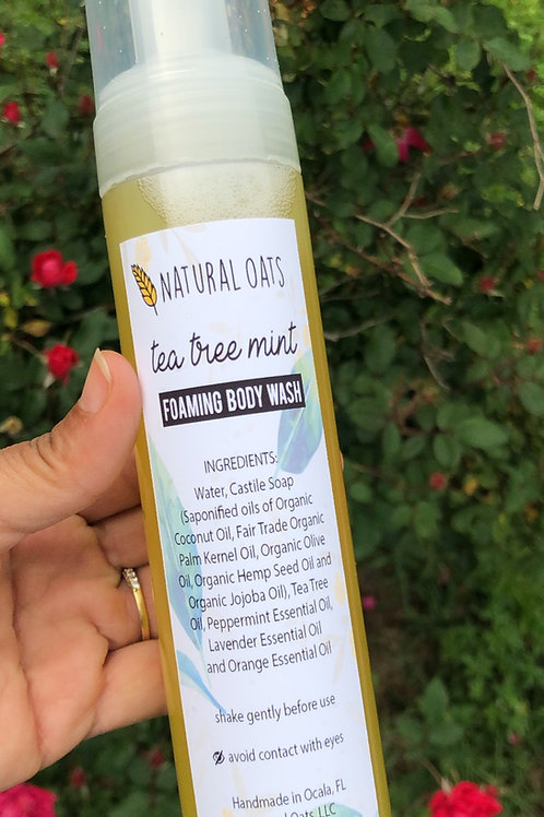 Tea Tree Mint Foaming Body Wash