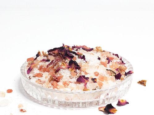 Pink Salt Rose Bath Soak