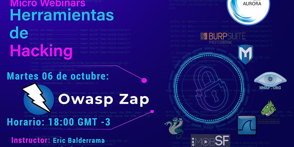 Owasp zap - Herramientas de Hacking