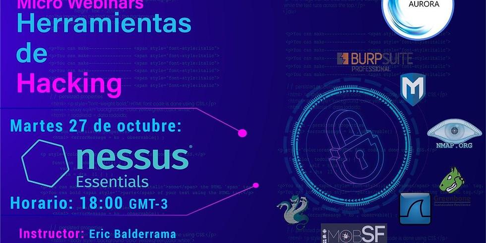 Nessus - Herramientas de Hacking