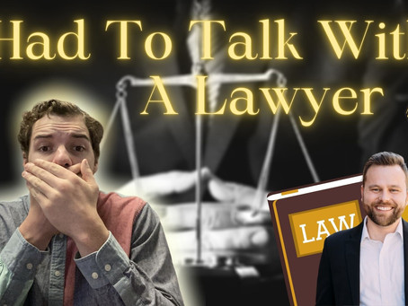 I Needed To Talk To A Lawyer | Brad Hill | Episode #9 | Process Over Profit
