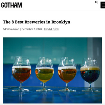 The 8 Best Breweries in Brooklyn