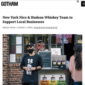 New York Nico & Hudson Whiskey Team to Support Local Businesses