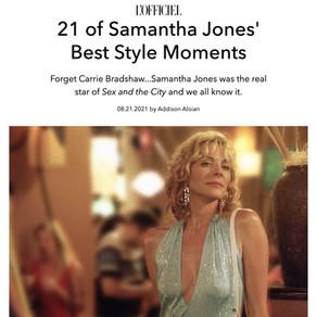 21 of Samantha Jones' Best Style Moments