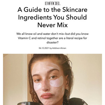 A Guide to the Skincare Ingredients You Should Never Mix