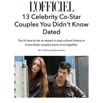 13 Celebrity Co-Star Couples You Didn't Know Dated