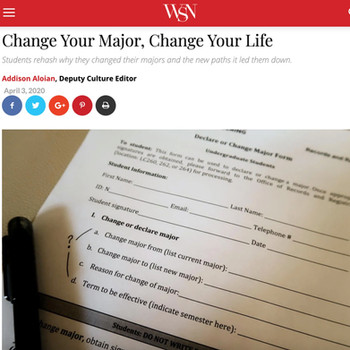 Change Your Major, Change Your Life