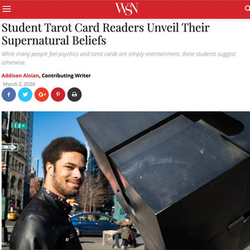 Student Tarot Card Readers Unveil Their Supernatural Beliefs