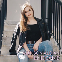 Endgame (Album Cover) - released in 2019 as Addison Aloian's second single; shot by Dylan Davis in 2017.
