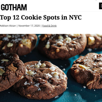 Top 12 Cookie Spots in NYC