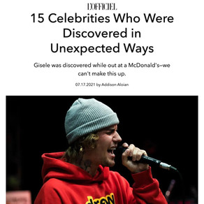 15 Celebrities Who Were Discovered in Unexpected Ways