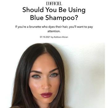 Should You Be Using Blue Shampoo?