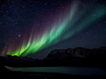 The Northern Lights and God