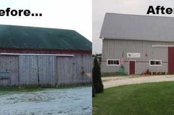 B is for Barns