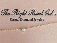 TRHG DIAMOND BEZEL BRACELET