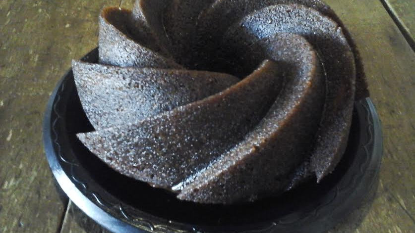 Small Chocolate Rum Cake