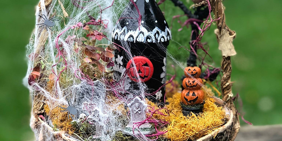 Spooky Fairy Garden to Benefit WAGS