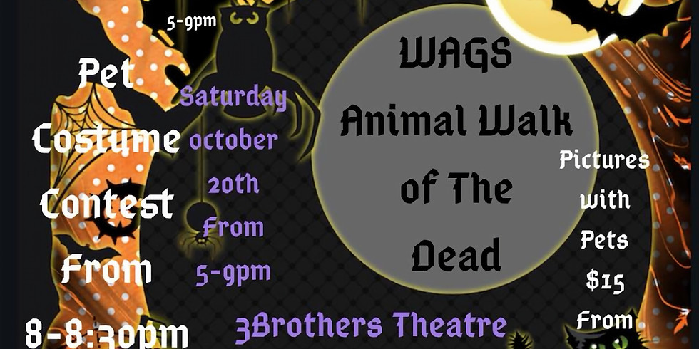 WAGS Animal Walk of The Dead