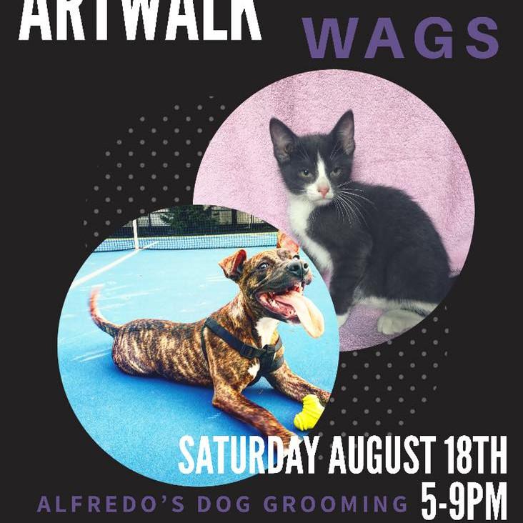 WAGS at ArtWauk