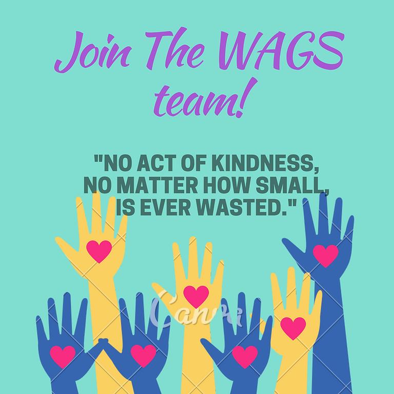 WAGS October Volunteer Meeting