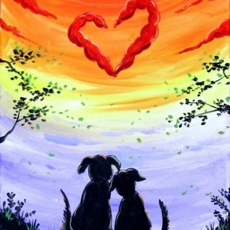 WAGS Wine & Paint Night for the Dogs