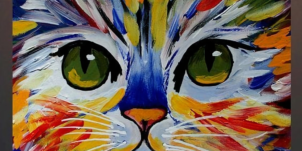WAGS Wine & Paint Night for the Cats