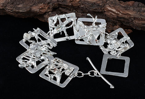 sterling silver bracelet fusion toggle clasp