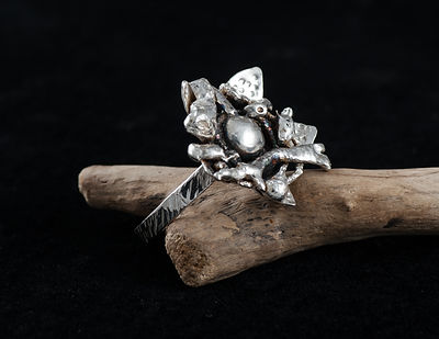 ring sterling silver fusion