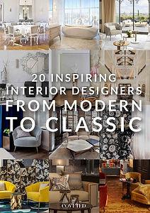 20 inspiring interior designers from mod