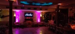 dance floor for event set up