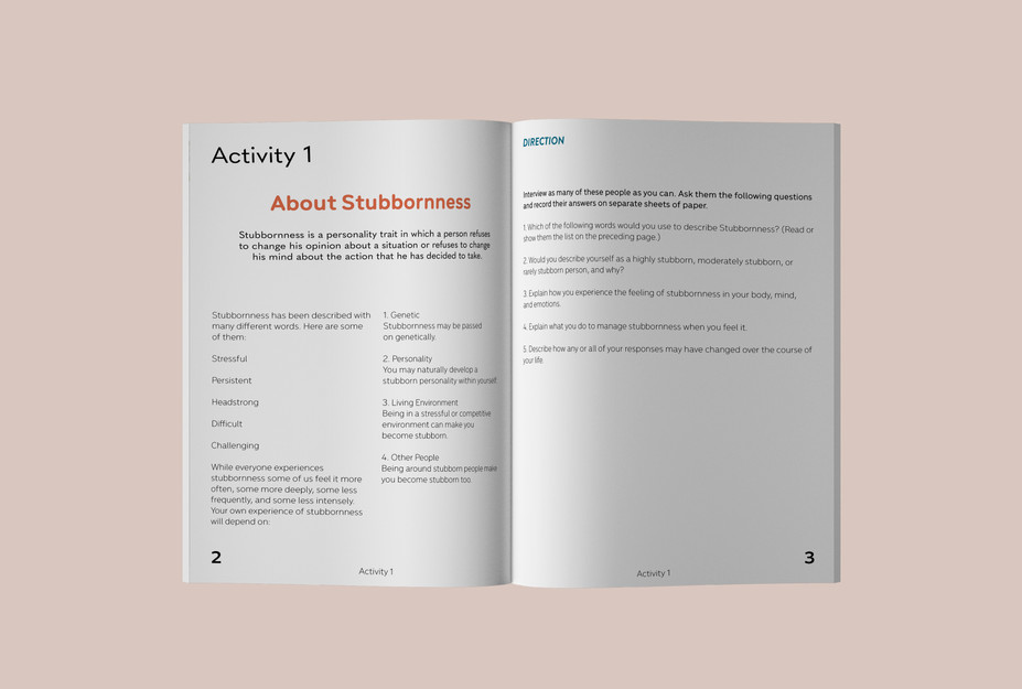 Stubbornness Workbook