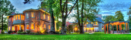 Fairholm, Carriage House & Pergola
