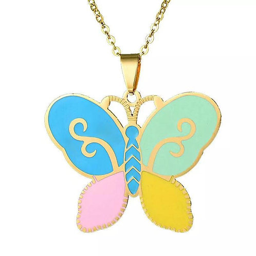 Summer Butterfly necklace.