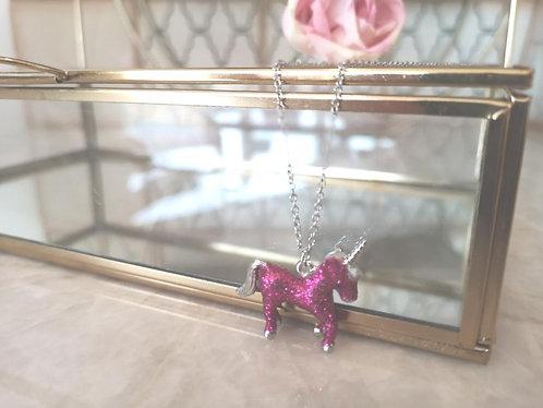 Sparkly unicorn.